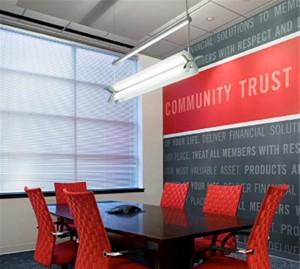 Delta Financial Wallcovering Display Graphics