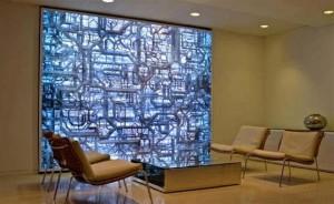 Strate Abstract Shadowbox Wall Graphics