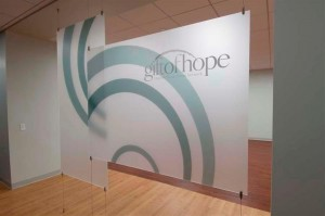 Gift of Hope Graphic Wall Display