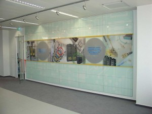 Panduit Product Wall Display Systems