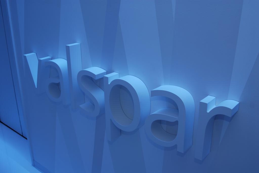 Valspar Logo Wall Graphics