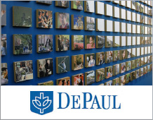 Donor History Product Walls Case Studies DePaul University