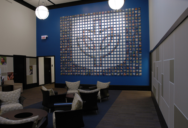 DePaul University Focus Wall