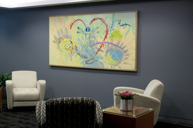 Gift of Hope Custom Canvas Wall Graphic
