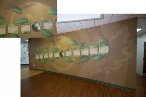 Gift of Hope Donor Wall Exhibit