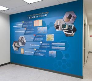 Engis Diamond Product Wall
