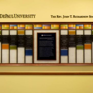 Donor Wall Spotlight: DePaul University's Rev. John T. Richardson Society