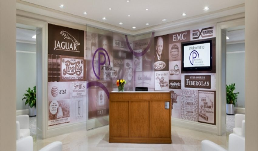 Pattishall McAuliffe Product Wall