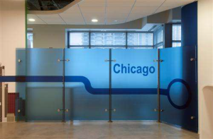 Google Chicago Lintec Film Graphic