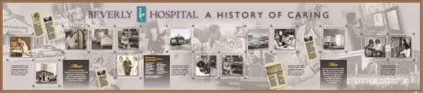 Beverly Hospital History Wall