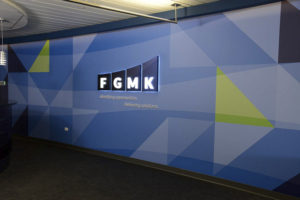 Corporate Logo Wall