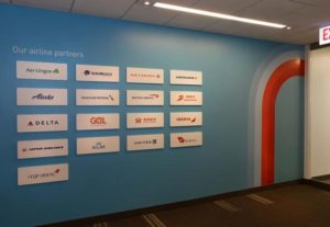 gogo partners graphic wall recognition
