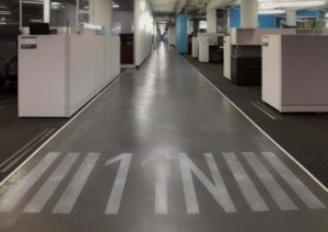 gogo Floor Graphics