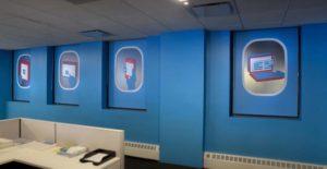 gogo Corporate art graphics