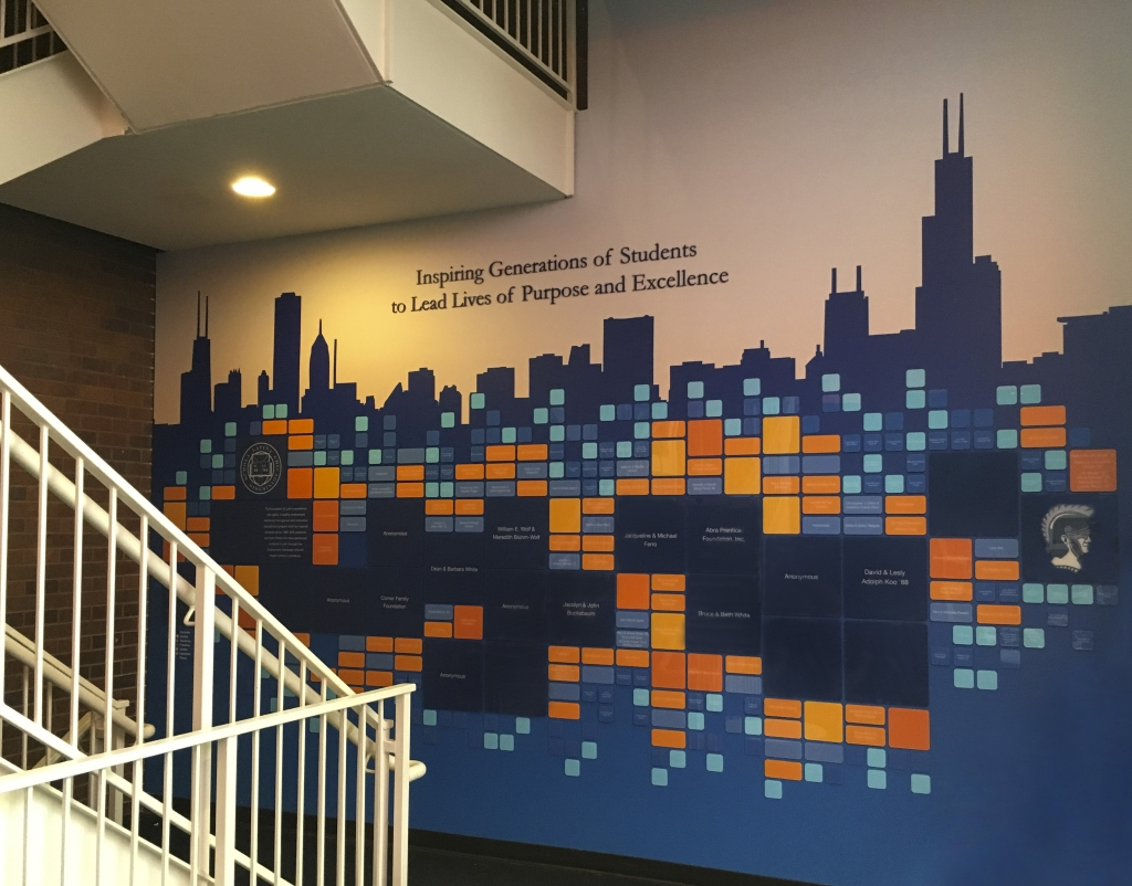 Latin School Chicago Donor Wall