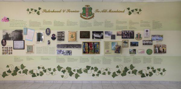 History Service Wall