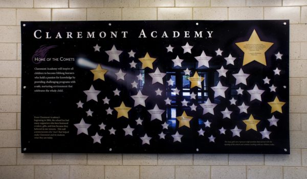 Academy Donor Recognition Wall