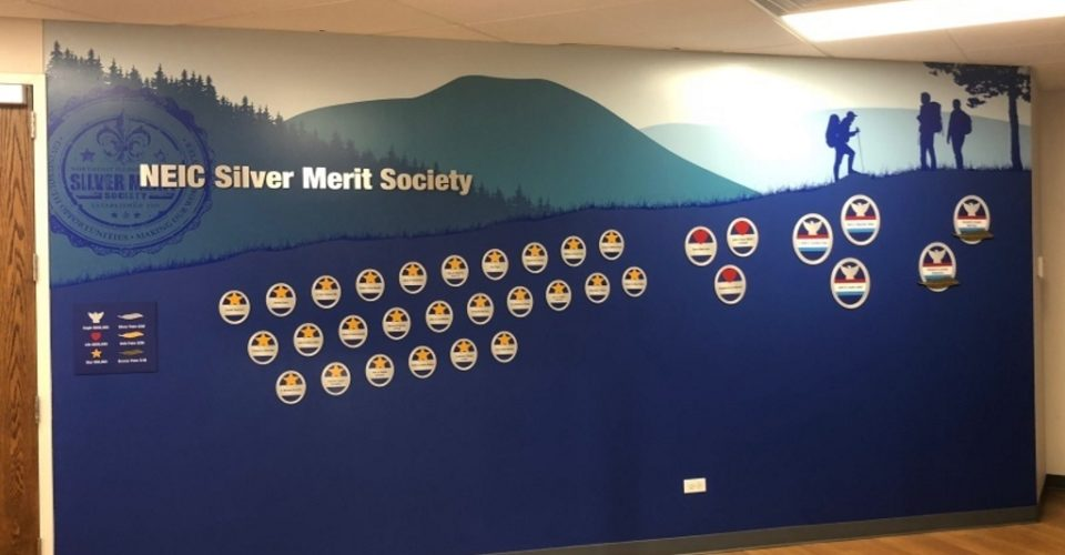 boy scouts donor wall