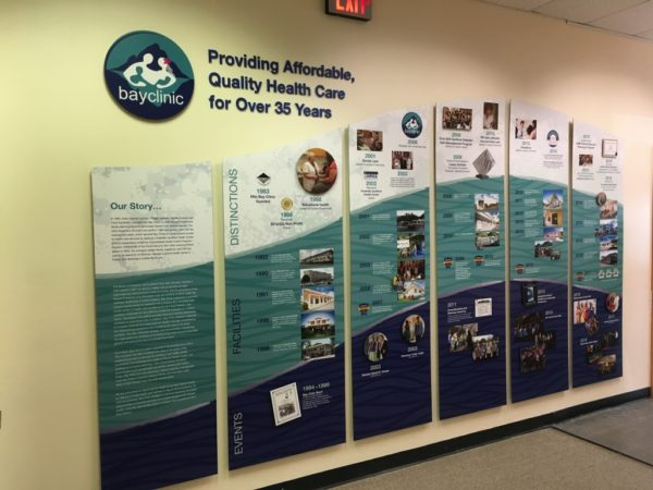 Bay Clinic Timeline Display